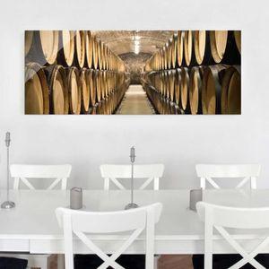 CADRE PHOTO 40x100 cm verre image - cave à vin - croix panoram