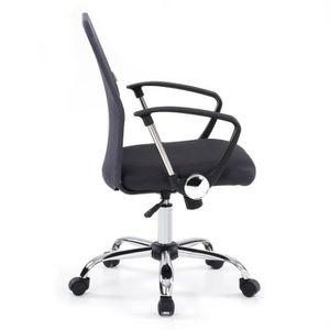 CHAISE DE BUREAU IKAYAA Chaise de bureau Ergonomique Gris 360 pivot