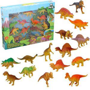 FIGURINE - PERSONNAGE Coffret 15 Figurines de Dinosaures Jurassique - Jo