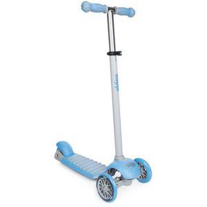 MOTO - SCOOTER Trottinette à 3 roues enfants boppi - Bleu