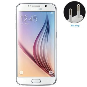 TELEPHONE PORTABLE RECONDITIONNÉ Samsung Galaxy S6 Blanc 32Go Reconditionné Télépho