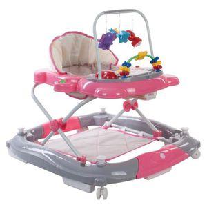 YOUPALA - TROTTEUR FIBI   Trotteur évolutif 2en1 bébé-enfant avec fon
