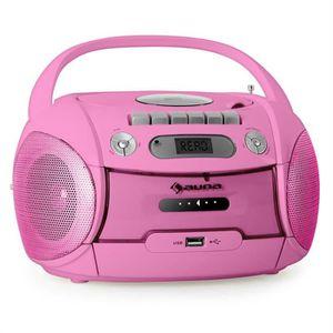 RADIO CD CASSETTE auna Boomgirl - Boombox ghettoblaster portable ave