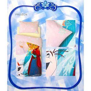 HOUSSE DE COUETTE ET TAIES Parure de lit La Reine des Neiges en coton pour 1