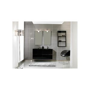 meuble salle de bain complet double vasque achat vente. Black Bedroom Furniture Sets. Home Design Ideas