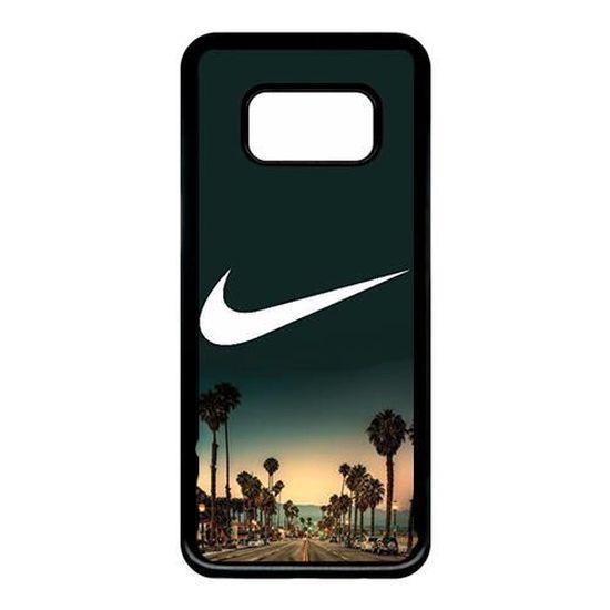Coque Samsung Galaxy S8 2018 Nike Palmier Miami Logo - Cdiscount ...