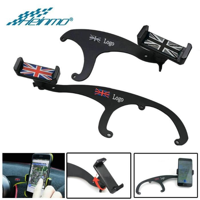 Support GPS pour MINI Cooper R56 R57 R55 R60 R61 voiture pour MINI Countryman Clubman F55 F60 F54 accessoires pour - Grey - MEAI229