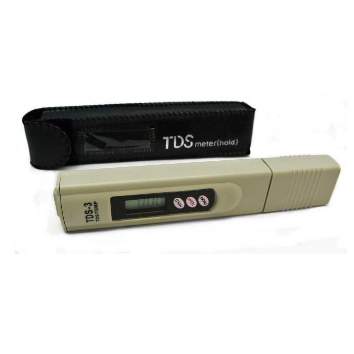 Mètre TDS pour tester la qualité de l'eau - TDS-3