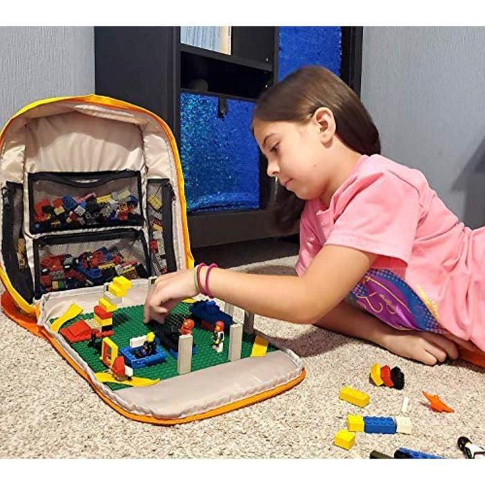 Jeu D'Assemblage TSAI1 cortex jouets bloc pack avec plaque de construction jouet sac à dos pour les blocs de construction intelligen