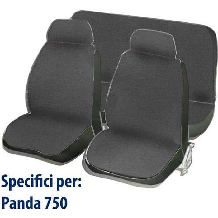 Housses de siège pour Fiat Panda 750 - gris