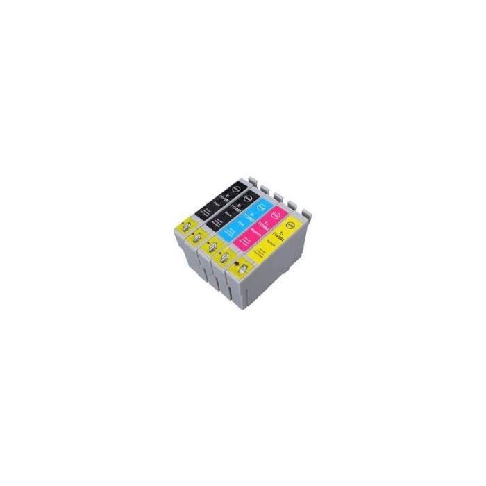 Pack de 5 Cartouches d encre EPSON T0715.