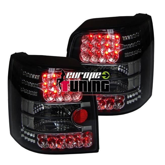 feux arrières design, noir, LED PASSAT, Break 96-00 LED pour: Volkswagen Passat B5 96-00