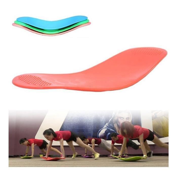 Yoga Balance Board ajustement torsion Fitness exercice entraînement pied jambe corps entraînement pou - Modèle: Bleu - HSJSZHA09478