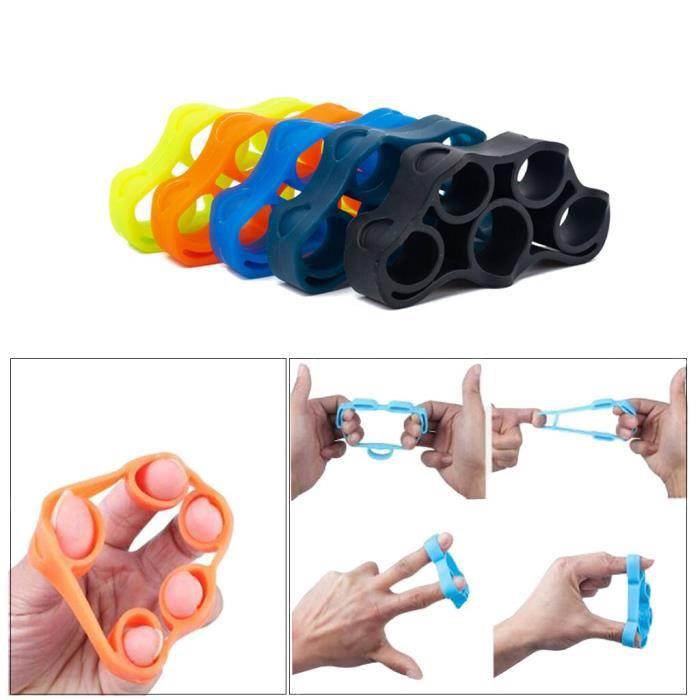 Accessoires Fitness - Musculation,Bandes de résistance d'extenseur de doigt de civière d'exercice de renforcement de poignée de