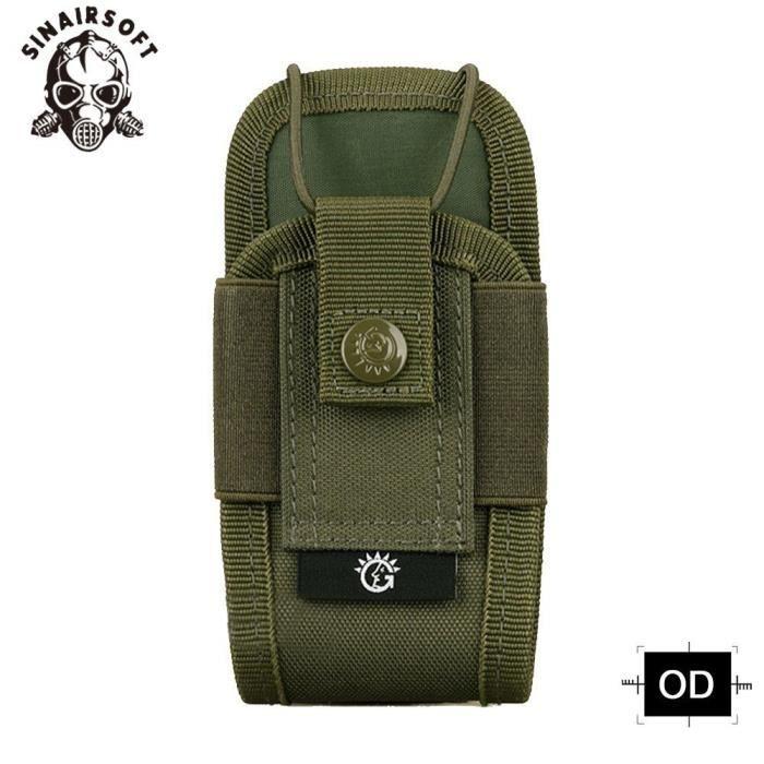 Sac tactique pour talkie walkie A018, sacoche multifonction Camouflage en Nylon, pochette militaire Molle EDC, PK65684464