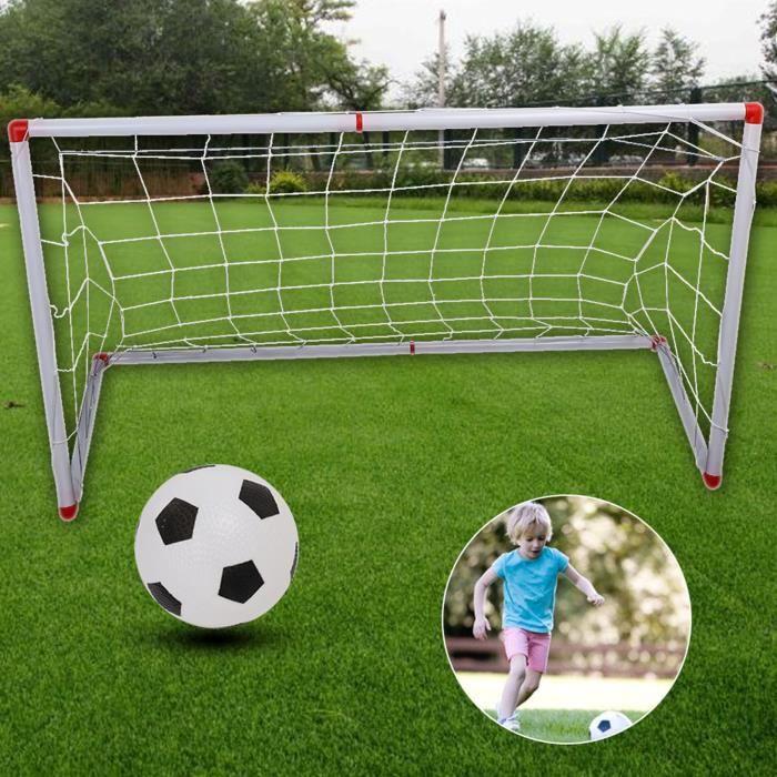 Tbest mini filet de poteau de but Filet de poteau de but de football de football pour enfants en plein air intérieur