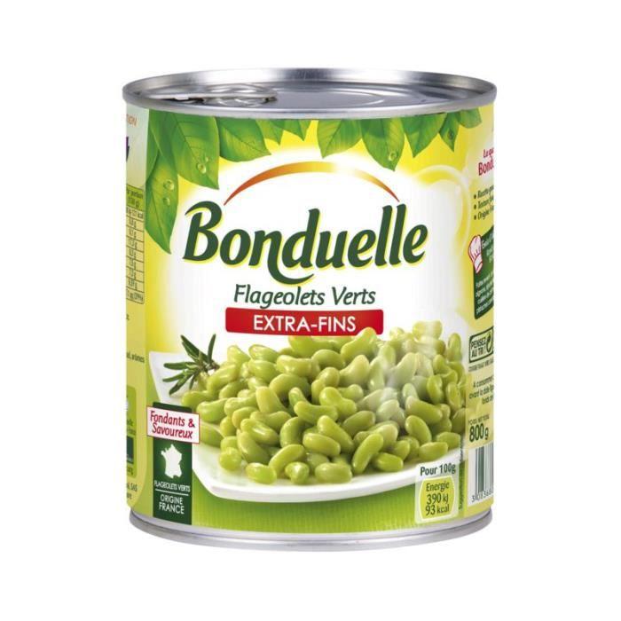 BONDUELLE Flageolets Extra-Fins - 530 g
