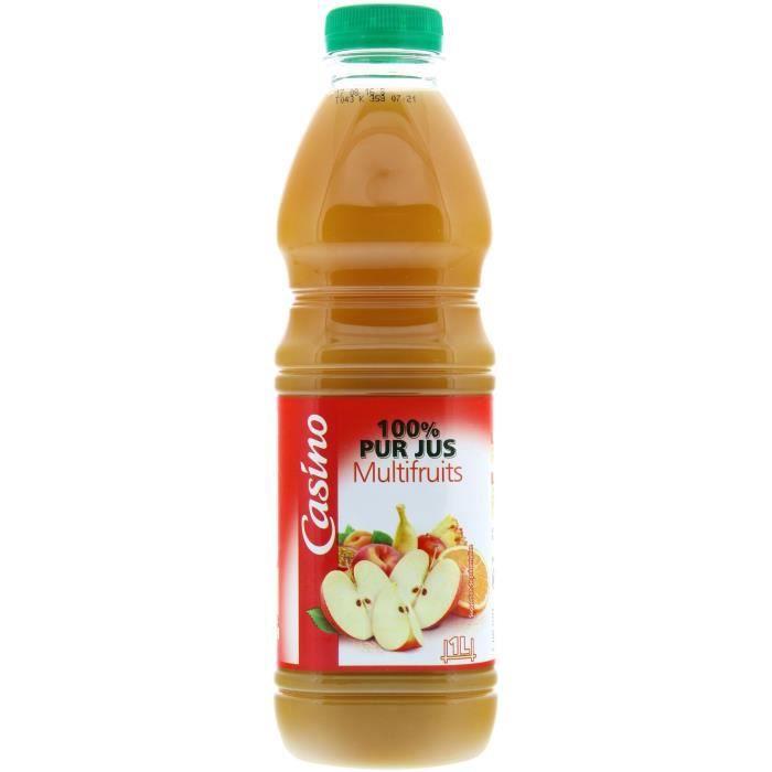 100% Pur jus de Multifruits - 1 l