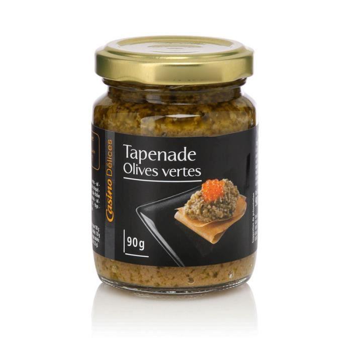 CASINO DELICES Tapenade à l'Olive verte - 90g
