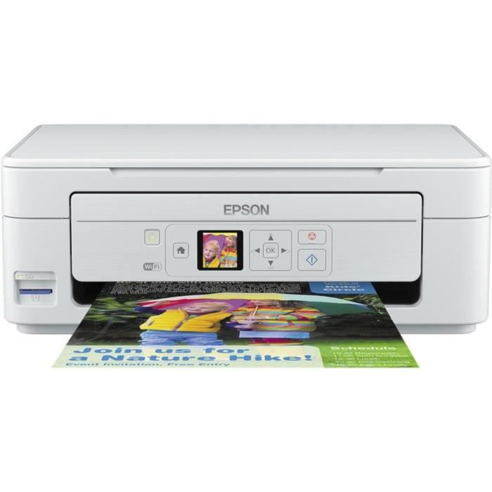 Epson Imprimante Expression Home XP-345 - Multifonction ultra-compact - Wi-Fi / Wi-Fi Direct - impression mobile - Écran LCD 3.7 cm