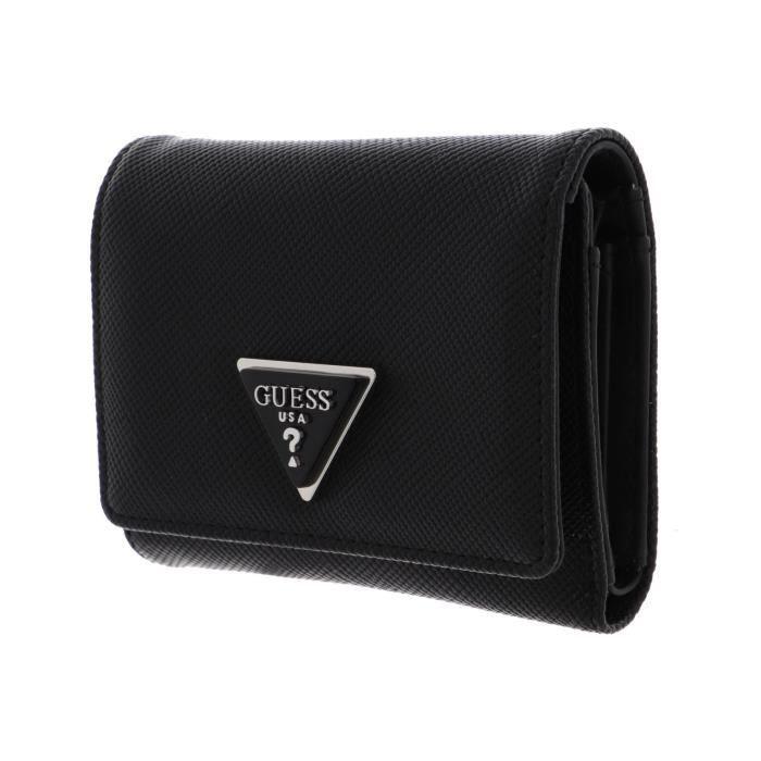 GUESS Cordelia SLG Small Trifold Wallet Black [133320] - porte-monnaie porte monnaie