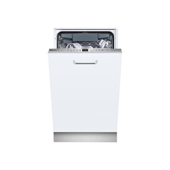 Neff S58M58X1EU Lave-vaisselle intégrable Niche largeur : 45 cm profondeur : 55 cm hauteur : 81.5 cm