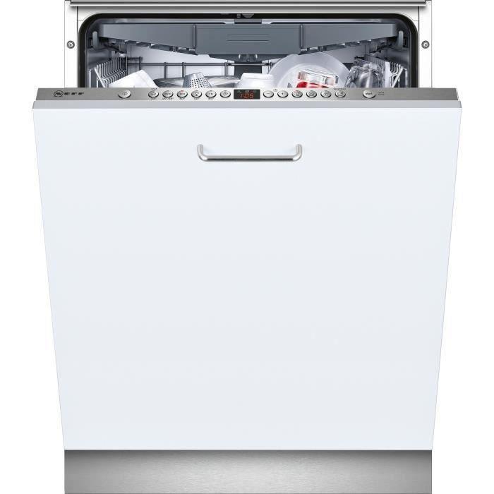 Neff S513N60X3E Lave-vaisselle - 14 couverts - 44 dB - A++ - Large60cm - Blanc - Moteur Efficient Silent Drive