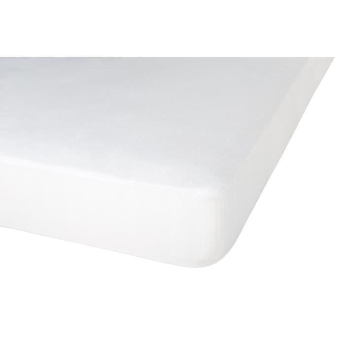 Neorev Relaxation Protège Matelas Coton Blanc 200 x 160 x 0,20 cm