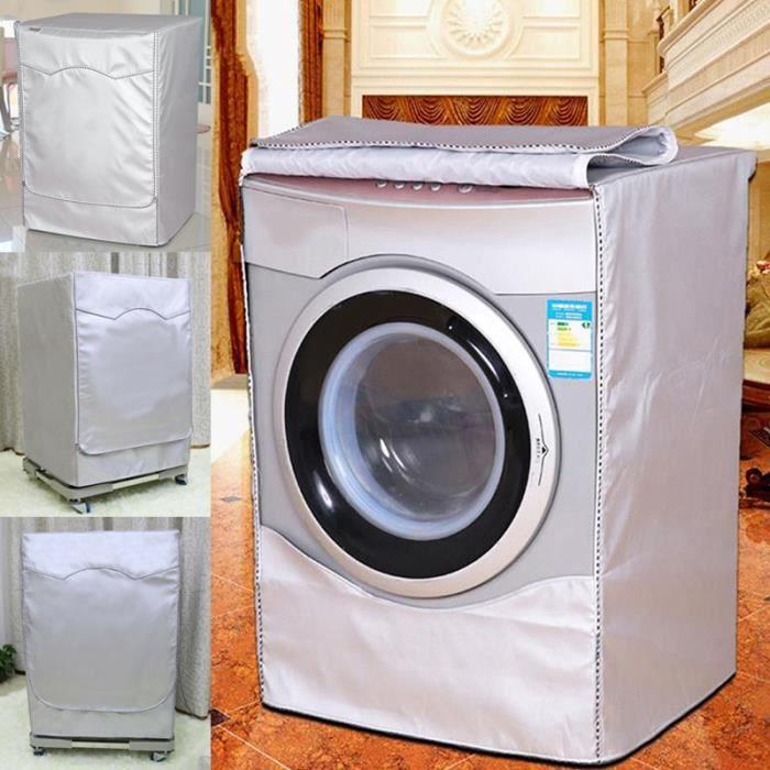 Couverture Respirante pour machine à laver de rouleau Imperméable Anti poussière automatique pour la maison - M