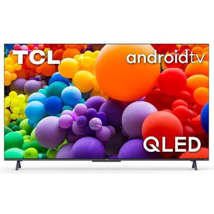 TCL TV 65C721 - TV QLED UHD 4K - 65- (165cm) - Dolby Vision - son Dolby Atmos ONKYO - Android TV - 4 x HDMI 2.1