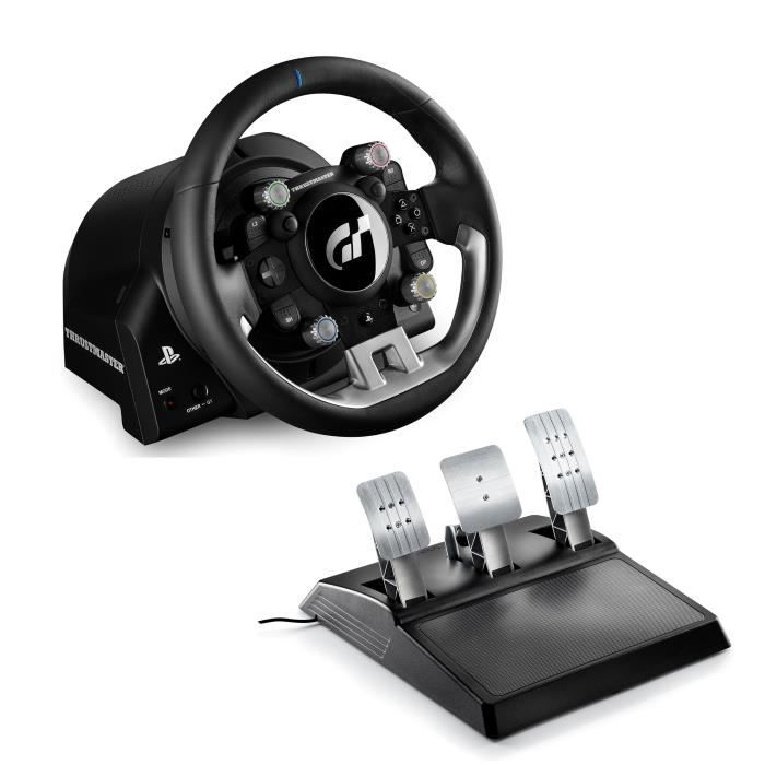THRUSTMASTER Volant + Pédalier T-GT - Version EU - PC / PS3 / PS4