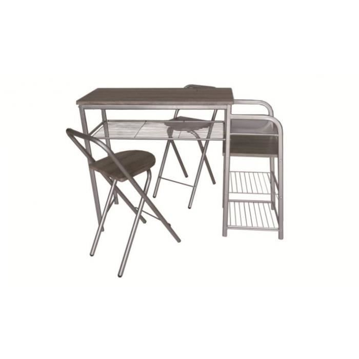 Table de bar haute et 2 chaises pliantes achat vente for Achat table bar