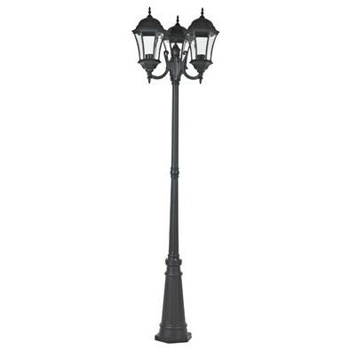 lampadaire 3 t tes granola noir e27 100w achat vente. Black Bedroom Furniture Sets. Home Design Ideas