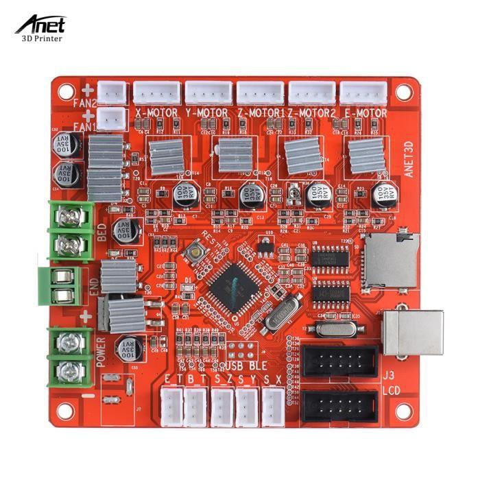 carte mere anet a8 AA1284 Base mère pour A8 Mainboard DIY Autoassemblage 3D de