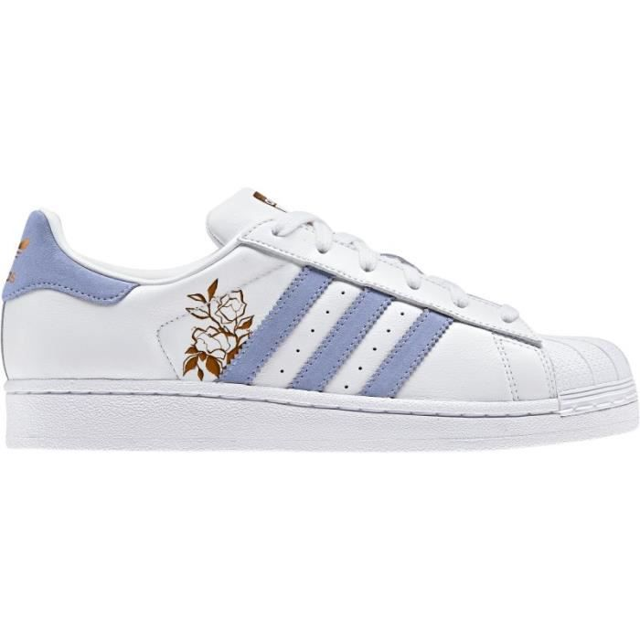 adidas superstar bleu rose