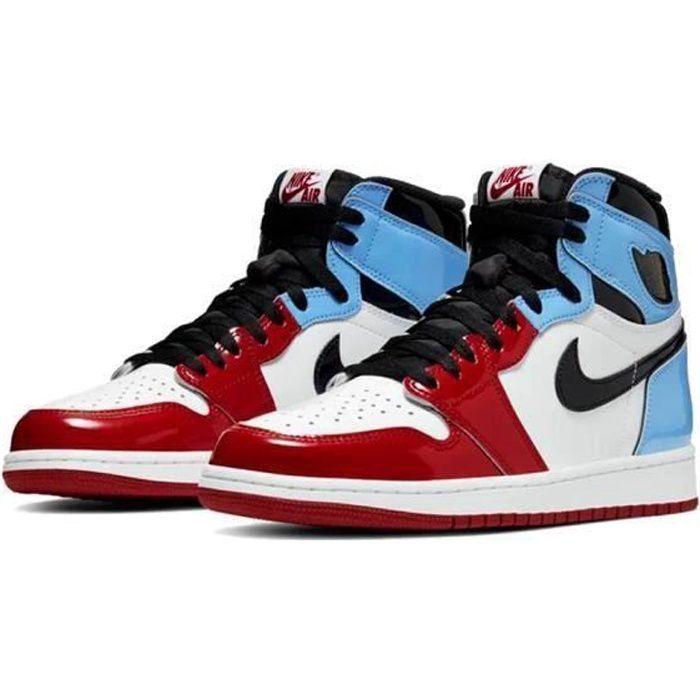 Basket NIKE Air Jordan 1 Jordans One AJ 1 Retro High Chaussure ...
