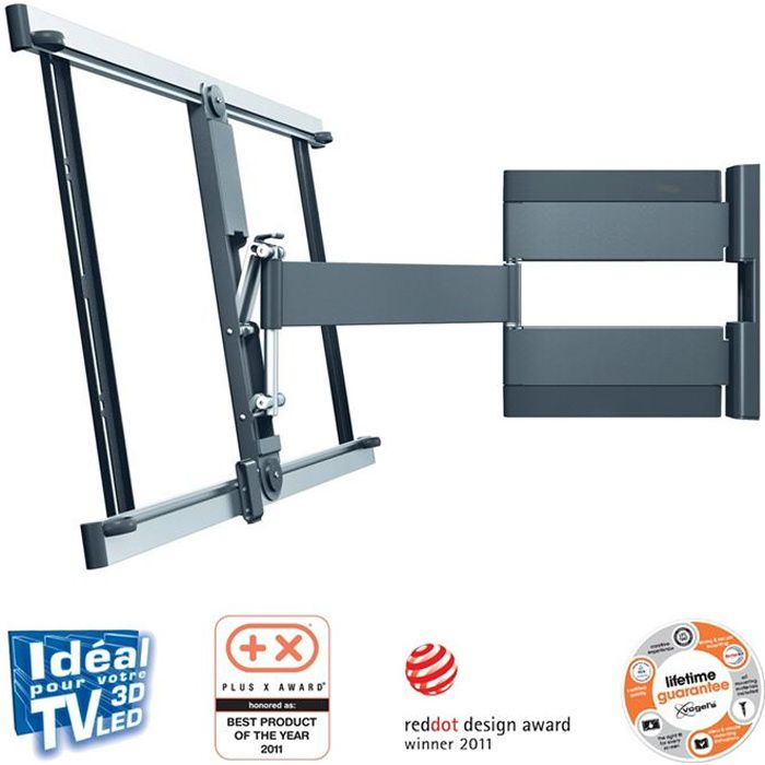 Vogel 39 s thin345 support tv mural orientable jusqu 39 180 - Support tv mural orientable ...