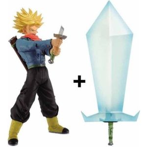 FIGURINE - PERSONNAGE BANPRESTO - Figurine Dragon Ball Z: Trunk avec son
