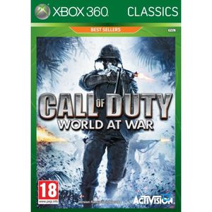 JEUX XBOX 360 Call Of Duty 5 World At War Classics XBOX 360