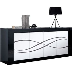 BUFFET - BAHUT  Victoria Luxury - Buffet 4 Portes