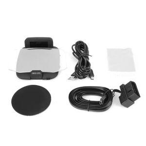 AFFICHAGE PARE-BRISE BOYOU Moniteur de Voiture LCD C1 OBD2 + GPS LED OB
