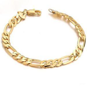 BRACELET - GOURMETTE Bracelet en or pour homme