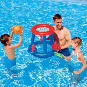 Panier Basket Piscine balle ballon Jeu de Plein Air Été Jardin Exterieur Inté...