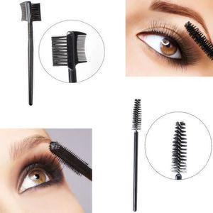 #1 cils sourcils pinceaux Mascara baguettes applicateur extension spool peigne sourcils pour outil de voyage accessoire Cils sourcils pinceau