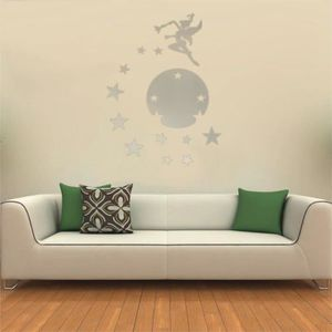 stickers miroir etoile achat vente stickers miroir etoile pas cher cdiscount. Black Bedroom Furniture Sets. Home Design Ideas