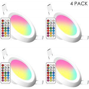 SPOTS - LIGNE DE SPOTS Spots LED Encastrables, 11 Couleurs Dimmable RGB P