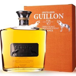 WHISKY BOURBON SCOTCH Guillon finition Vin de paille 70cl - Etui - Espri