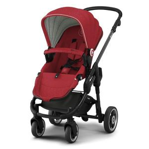 POUSSETTE  KIDDY Poussette Evoglide Ruby Red 6 m+