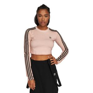 classic reasonable price factory price tee shirt manche longue adidas femme