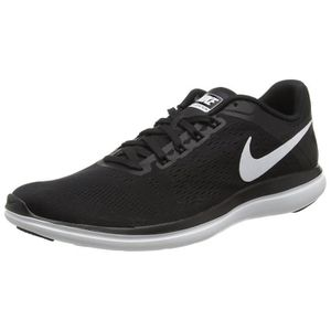 CHAUSSURES DE RUNNING NIKE Women's Flex 2016 Rn Running Shoe, Black-whit
